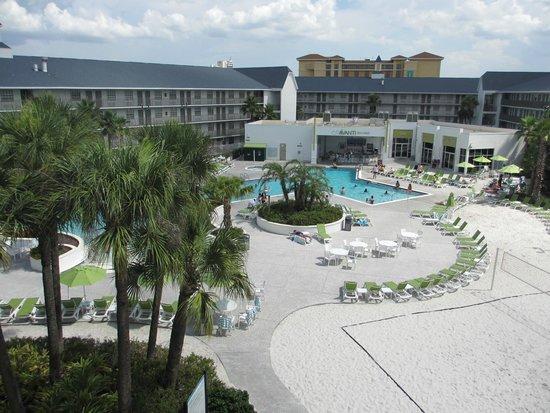 Avanti International Resort : View from the room