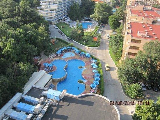 Havana Casino, Hotel & Spa: вид на отель из номера