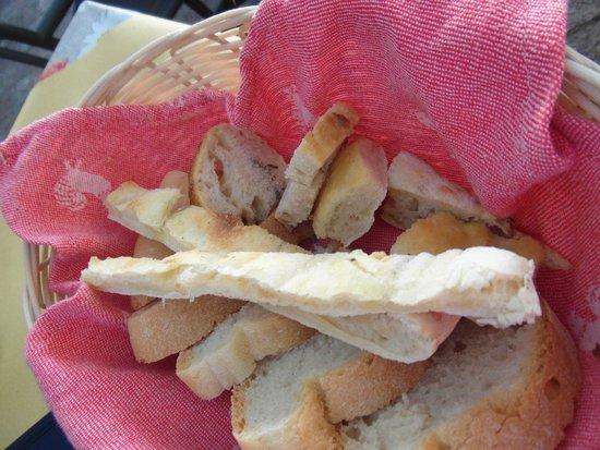 Osteria di Casa Chianti: Il pane fatto in casa