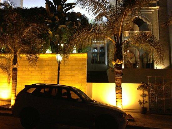 Hotel la Tour Hassan: entrada