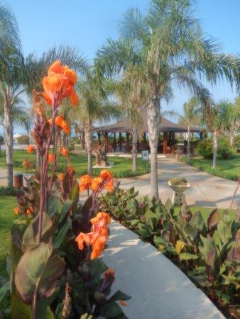 Ela Quality Resort Belek: Heading from the main pool to the beach