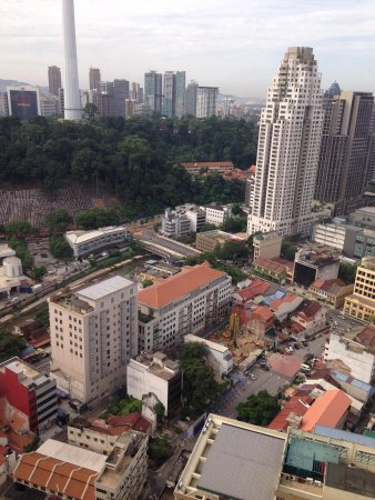 Sheraton Imperial Kuala Lumpur Hotel: View from room