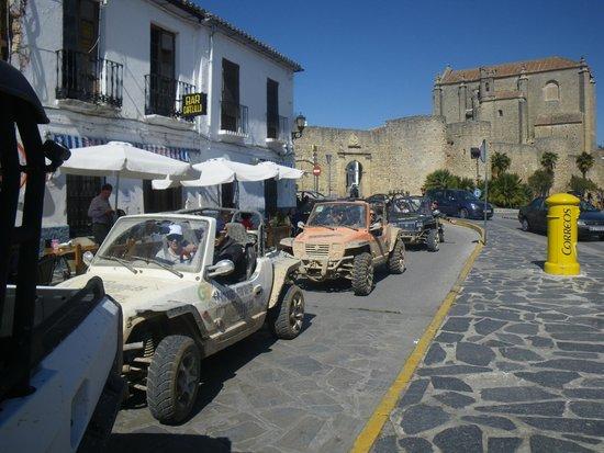 TopBuggy : Muralla de la Almocabar, Ronda