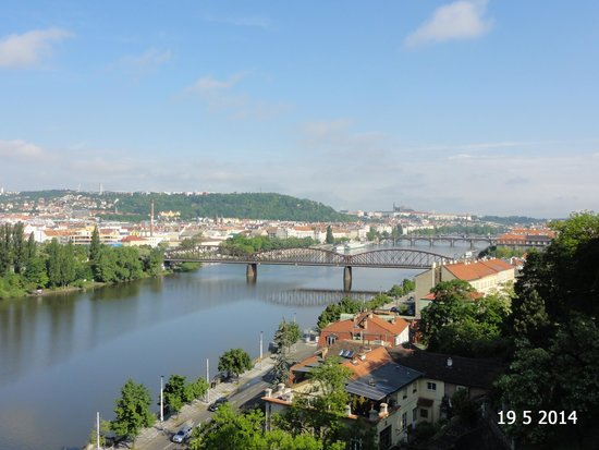 Vysehrad National Cultural Monument: View from the lookout