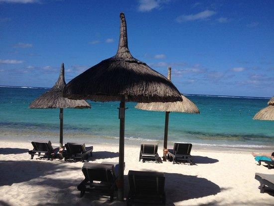 Constance Belle Mare Plage: Beach