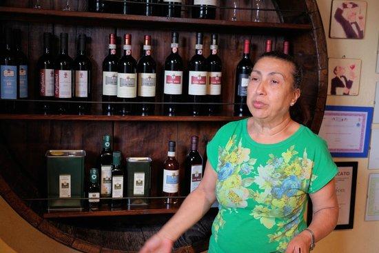 Casa Sola - Chianti Winery: Our tour guide Maria