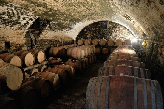 Casa Sola - Chianti Winery: Old stye wine cellar