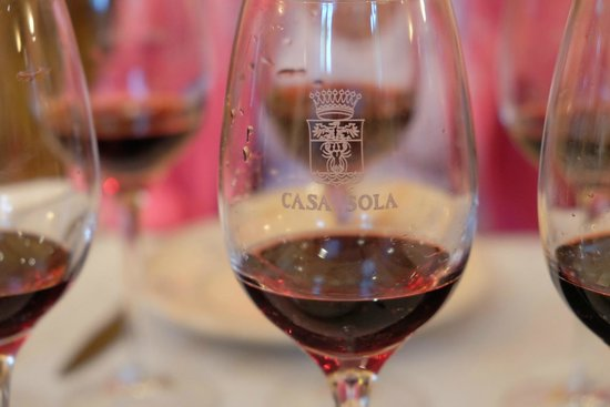 Casa Sola - Chianti Winery: Excellent wine