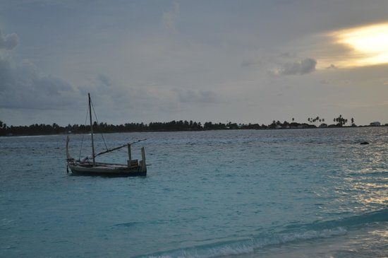 Six Senses Laamu: sunset