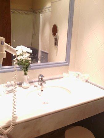 Hipotels Barrosa Garden: baño.. muy grande y limpio
