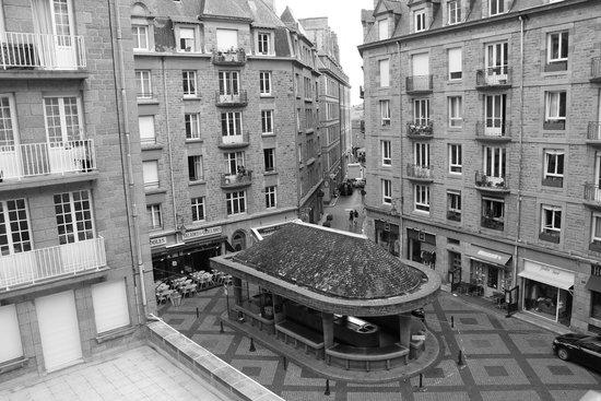 Hotel le Croiseur: vue de la chambre