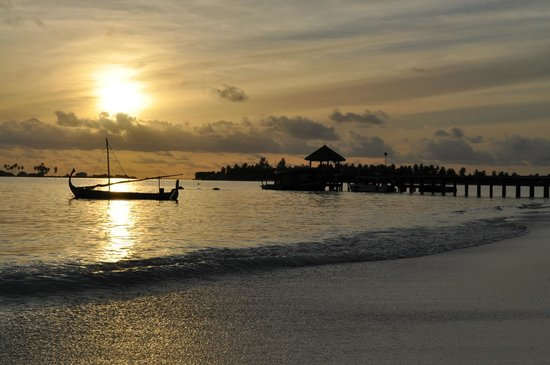 Six Senses Laamu: sunset 4
