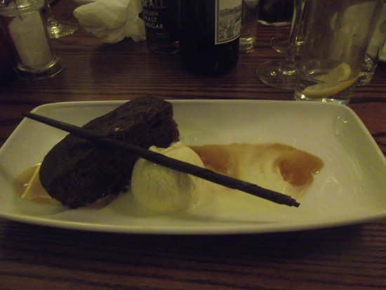 Miller & Carter: The sticky toffee pudding ...