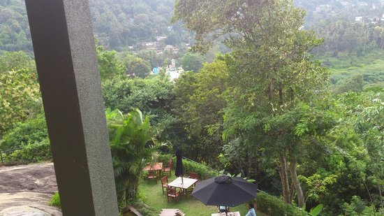 Earl's Regency: view from the room