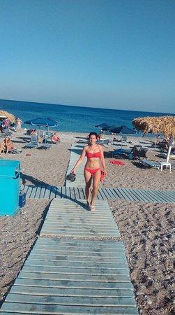playa traganou rodas
