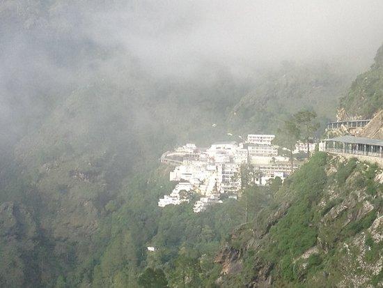 Vaishno Devi: First View of Bhawan