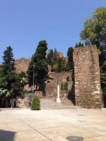 Alcazaba (fort) : Entrada do Alcazaba
