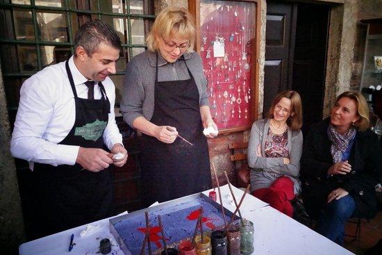 Caferaga Medresesi: Marbling