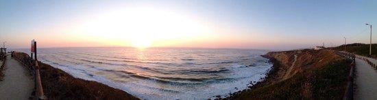 Panorâmica Praia Grande com Praia Pequena