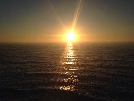 Praia Grande: Sunset