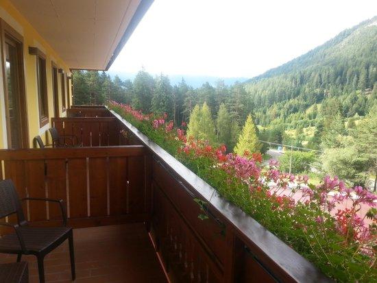 "Family & Wellness Hotel Shandranj : Balcone jr suite ""abete"""