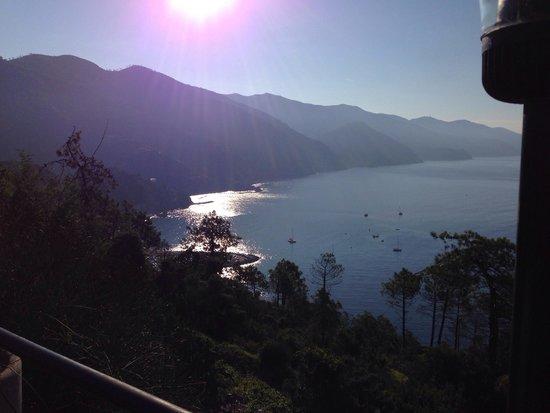 Suisse Hotel Bellevue : La magnifique vue paisible le matin
