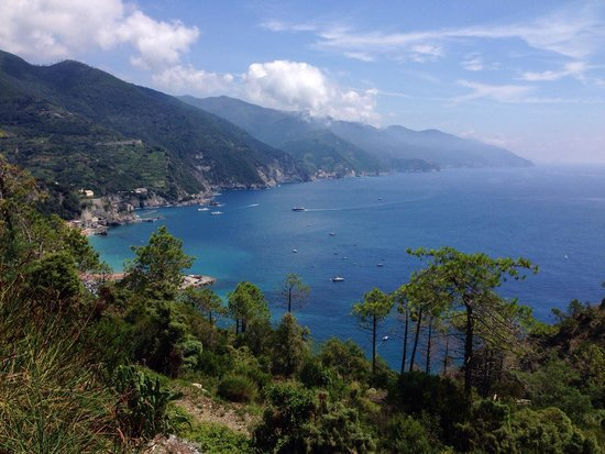 Suisse Hotel Bellevue : Le Cinque terre depuis l hôtel