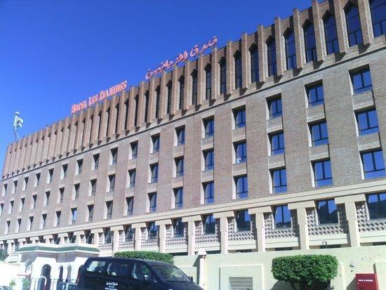 Hotel les Zianides: Вид отеля