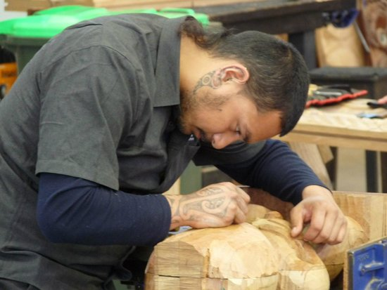 Te Puia: Maori Craftsman (Amazing Tattoo)