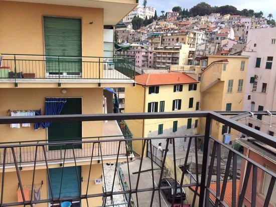 Riviera Hotel : Balkon
