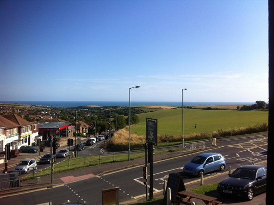 The Downs Hotel: View from Room 7