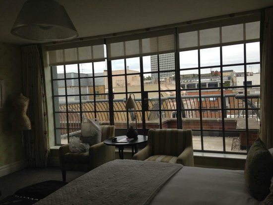 The Soho Hotel : room with a view