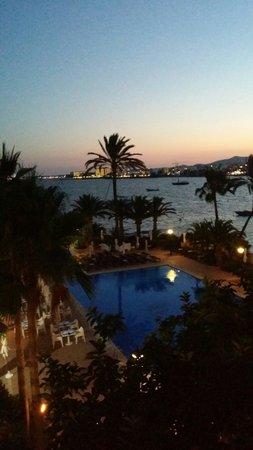 THB Los Molinos: Vista dalla terrazza. Molto bella