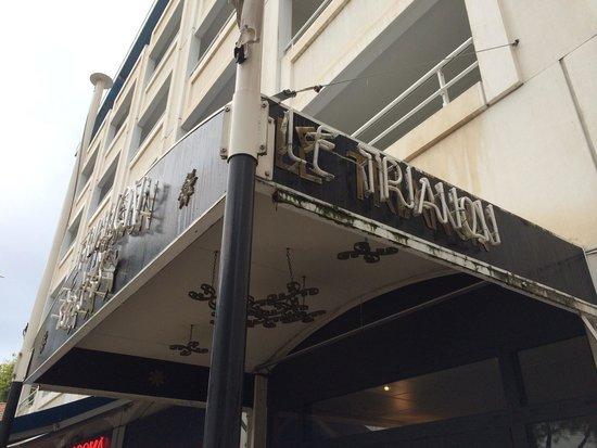 Maeva Résidence Le Trianon : Une poubelle