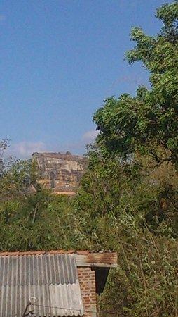 Sinhagiri Villa: view from communal balcony