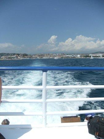 Île Sainte-Marguerite : boat trip to isla santa margarita