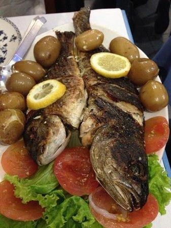 Cantinho Do Bem Estar: pescado grillado