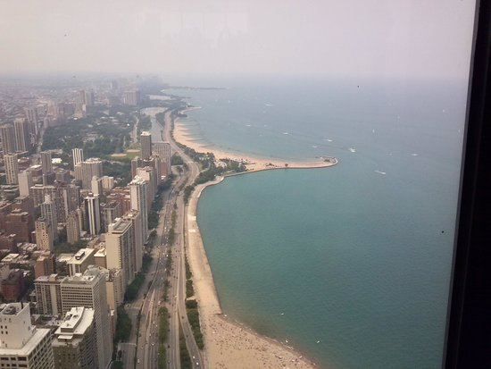 John Hancock Center/Aussichtsetage: Lake Michigan from 360°