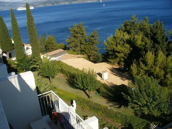 Sunshine Corfu Hotel & Spa: vue de la chambre