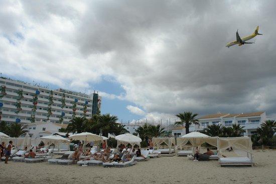 Ushuaia Ibiza Beach Hotel: beach