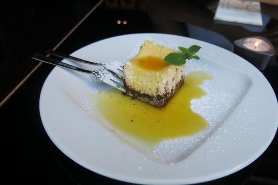 Host Restaurant: Passionfruit Cheesecake