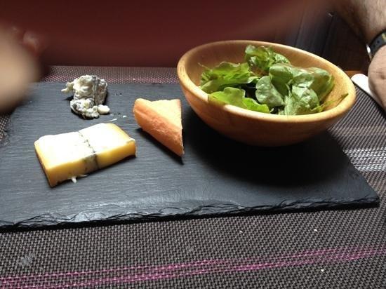 Bistrot du terroir : Ardoise de fromages