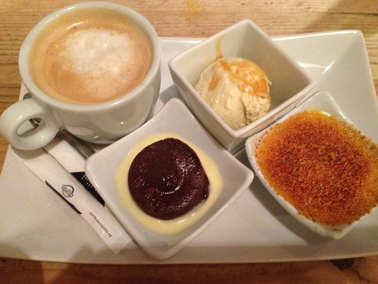 Poivre et Sel : cafe gourmand