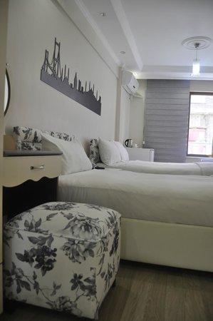 Taksim Inn Apartment: Üç Kişilk Oda