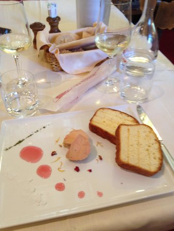 Lou Ressignon: Home made foie gras
