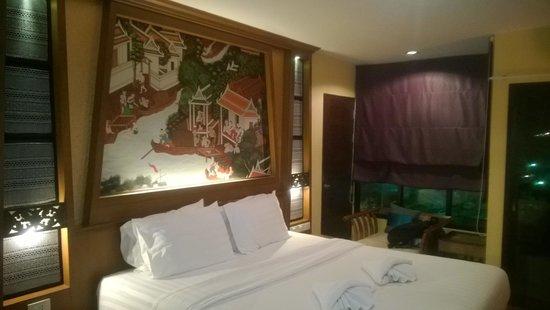Chalelarn Hotel Hua Hin : room deco