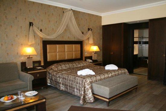 La Marquise Luxury Resort Complex : Suite Junior balcon vue piscine section adulte