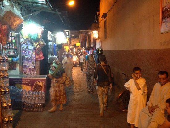 Riad Al Badia: Op naar El-Fna