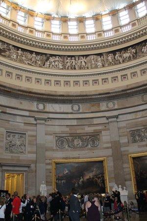 Capitol Hill: Interior de la cúpula