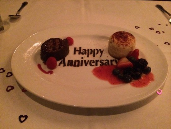 The Capital Grille : What a special treat for dessert.